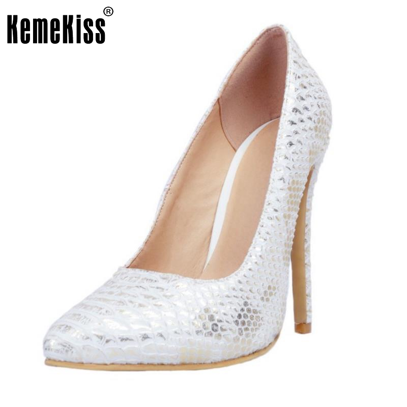 New Sexy Thin Heel Women Shoes Sexy Shallow Mouth High Heels Women Pumps Woman Flower Pointed Toe Stiletto Footwear Size 34-47 pumps shoes woman spring and autumn high heeled 11cm sexy shallow mouth thin heels flock pointed toe singles shoes size 35 39