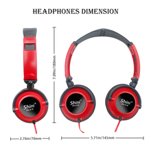 Headphones with Mic Earphones 3.5mm AUX Foldable Portable Gaming Headset For Phones MP4 Computer PC Music fone de ouvido