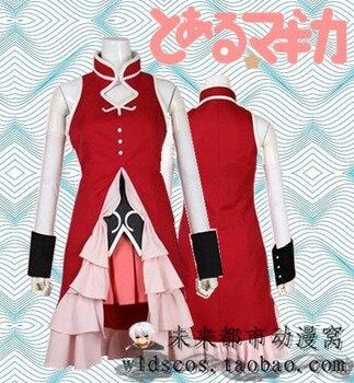 Puella Magi Madoka Magica Kyoko Sakura Cosplay Costume with Heartstone