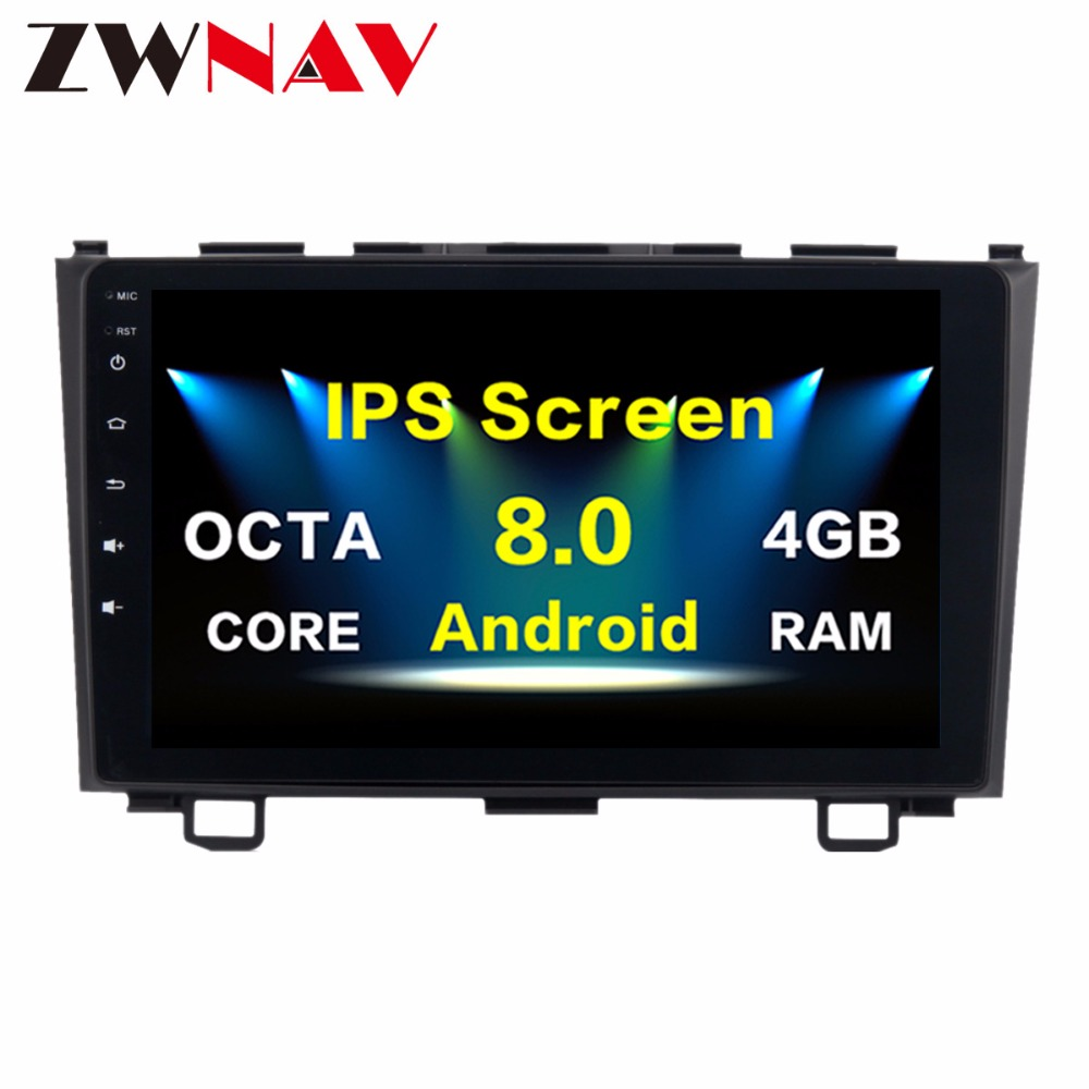 <font><b>10.2</b></font> Inch Newest Octa Core <font><b>Android</b></font> <font><b>8.0</b></font> <font><b>Car</b></font> No DVD Player <font><b>Stereo</b></font> GPS Navigation <font><b>Car</b></font> Radio For Honda CR-V 2007 2008 2009 2010 2011 image