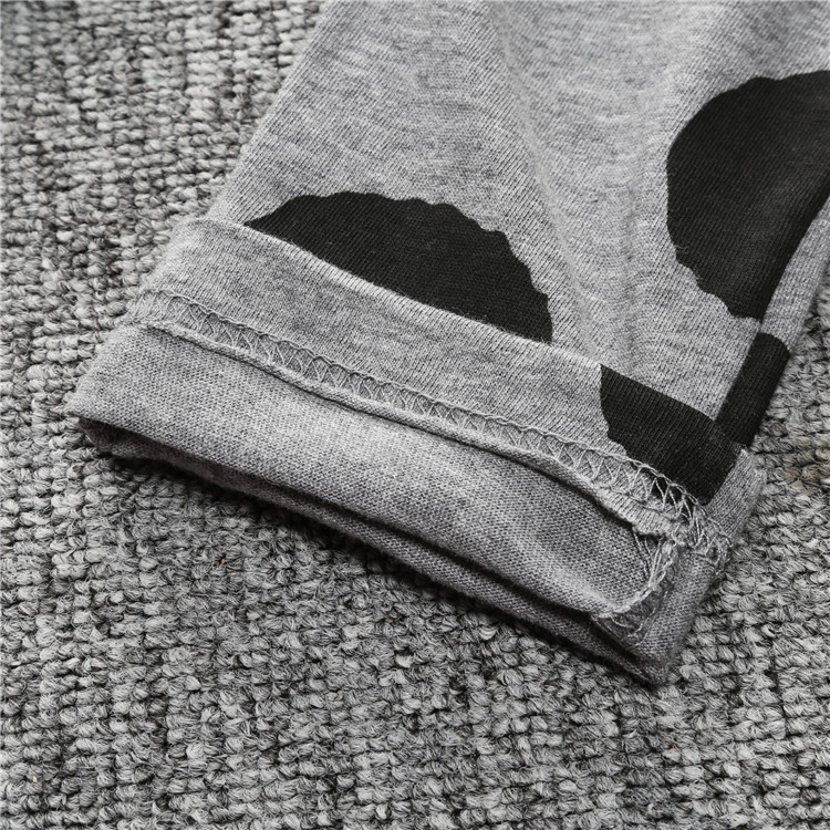 ST189 2017 Nowa dziewczyna przyjazdu i chłopców ubrania ustawić długi rękaw + Spodnie sowa wzór zestaw noworodka ubrania dla dzieci garnitur dzieci odzież 40