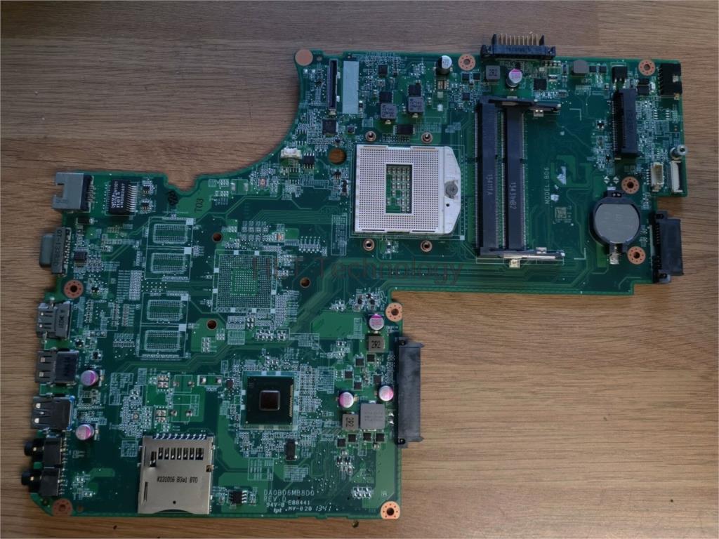 HOLYTIME scheda madre del computer portatile Per Toshiba C70 C75 L70 S70 S75T DA0BD6MB8D0 HM76 DDR3 Testati Al 100% okHOLYTIME scheda madre del computer portatile Per Toshiba C70 C75 L70 S70 S75T DA0BD6MB8D0 HM76 DDR3 Testati Al 100% ok