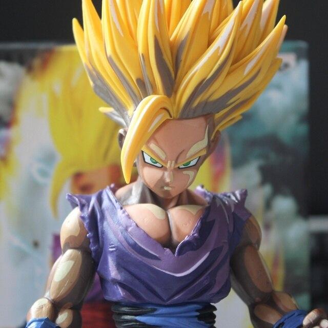 Manga de Dragon Ball Z Figura Modelo 23 cm PVC Gohan Super Saiyan Goku Figura Juega El Envío Libre