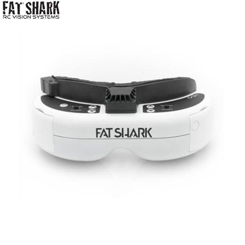 Haute Qualité FatShark Dominator HDO 4:3 OLED Affichage Vidéo FPV Lunettes 960x720 pour Drone RC Jouets Saf