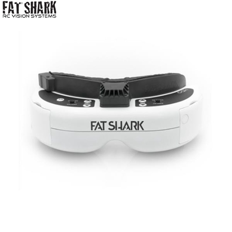High Quality FatShark Dominator HDO 4 3 OLED Display FPV Video Goggles 960x720 for RC Drone
