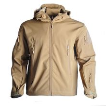 High Quality Military Lurker Shark Skin Soft Shell  Tactical Jacket Waterproof Windproof Windbreaker Men Coat Outdoor Camping