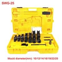 Free ship SWG 25 Manual pipe and tube bending machine Hand tube bender U bending tools iron/steel/copper/aluminum tube bender
