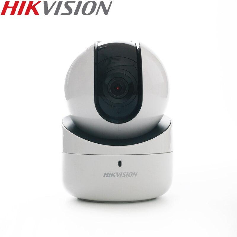 HIKVISION DS-2CV2Q21FD-IW 2MP Mini caméra Wi-Fi PT IP intégré Microphone et haut-parleur prise en charge EZVIZ APP ONVIF usage domestique