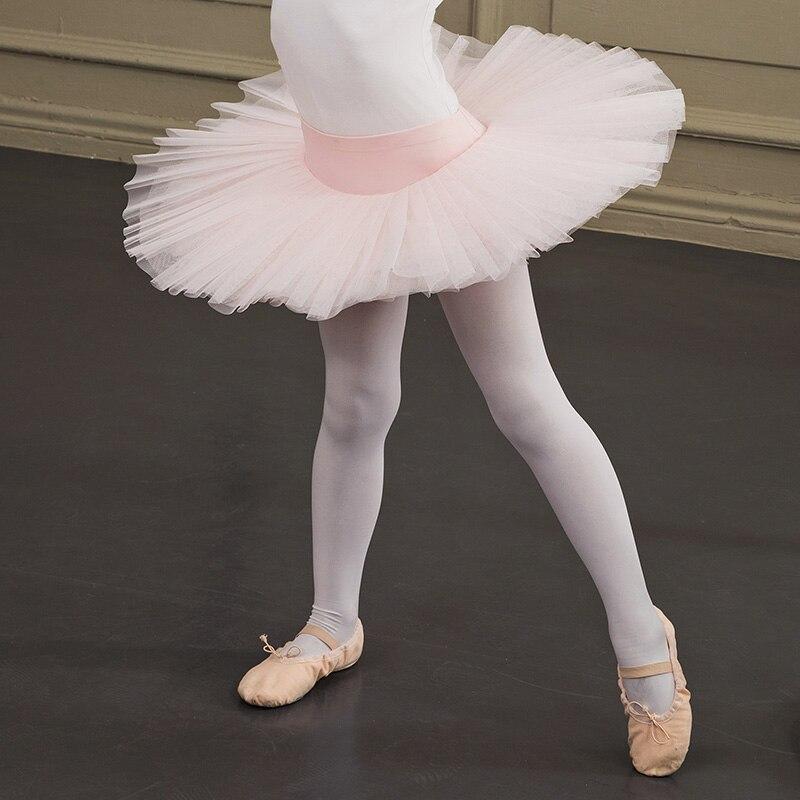Ballet Tutu filles rose blanc noir Ballet jupe lyrique danse Costumes Ballet justaucorps ballerine enfant gymnastique jupe DQS1620