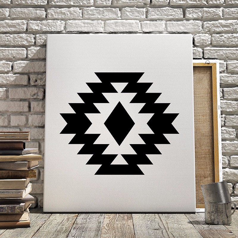 ᐂArte Azteca geométrica, Tribal Scandianvian Cartel, Impresos ...