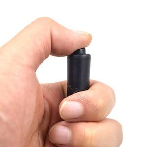 Image 4 - 3 חוט XQF PTT מעקבים אפרכסת צינור אקוסטי האוויר אוזניות מיקרופון עבור Motorola רדיו מכשיר קשר DP4801 DP4800 DP4401 DP4400