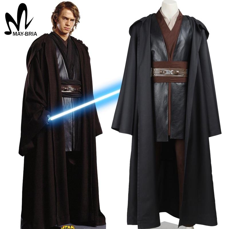 2017 star wars costume adult anakin skywalker cosplay Halloween Carnival party costume anakin skywalker costume custom