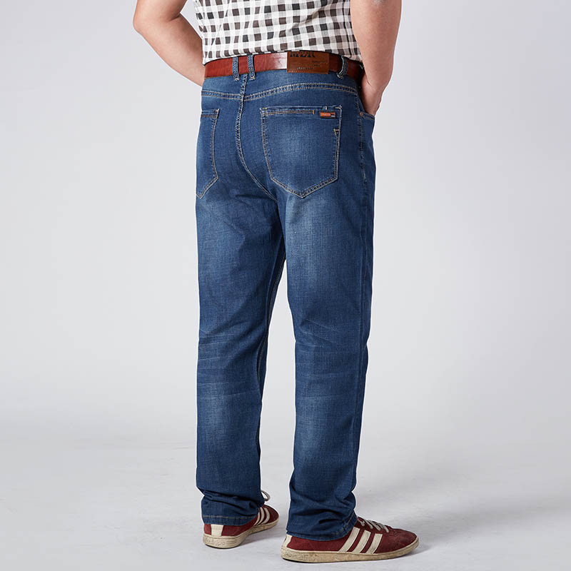 Plus Size Stretch Jeans Ready Stock New Arrival 2018 Big Man Wear Dropshipping