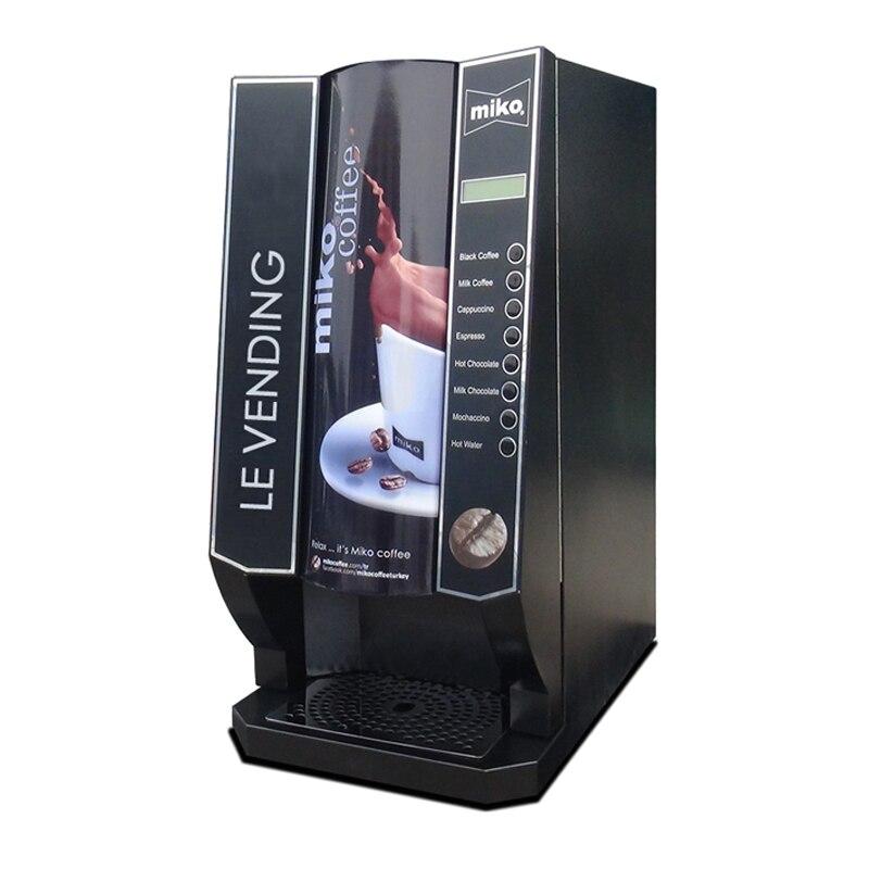 Les offre spéciale Distributeur Automatique de Café Fabricant/Faisant La Machine 7 Chaud Boissons Mélangées Et 1 Eau Chaude Avec Service Porte À porte