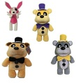 Plush Gloden Five Nights At Freddy's Fox Fnaf Freddy Fazbear Bear&Foxy Plush Toys Doll Gift 30cm
