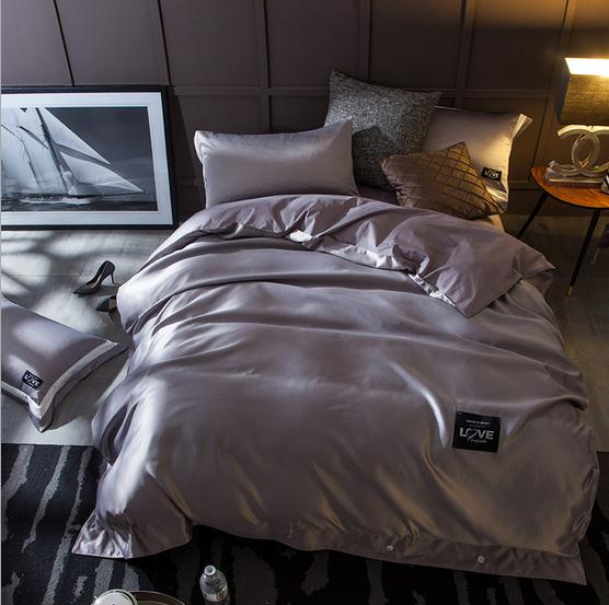 High End Hotel / Home Queen King Size Solid Luxury Washed