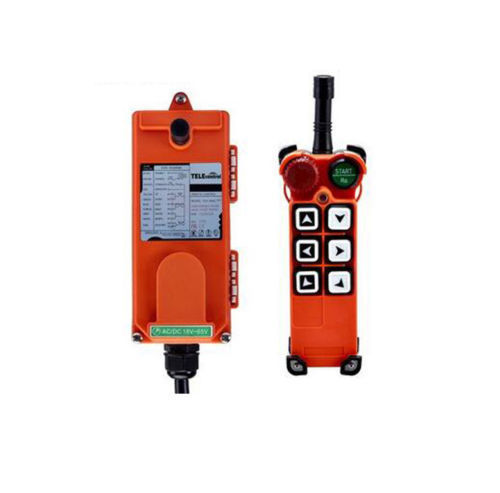 F21 E1 AC/DC18V 65V(1 Transmitter + 1 Receiver) Wireless Remote Control Electric Chain Hoist Crane Controller