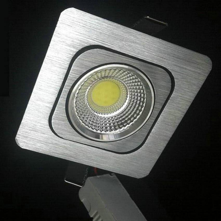 30 шт. 5 Вт 10 Вт 12 Вт dimmable удара чип светильник Встраиваемый светодиодный потолочный пятно света лампы белый/теплый белый светодиодные лампы ...