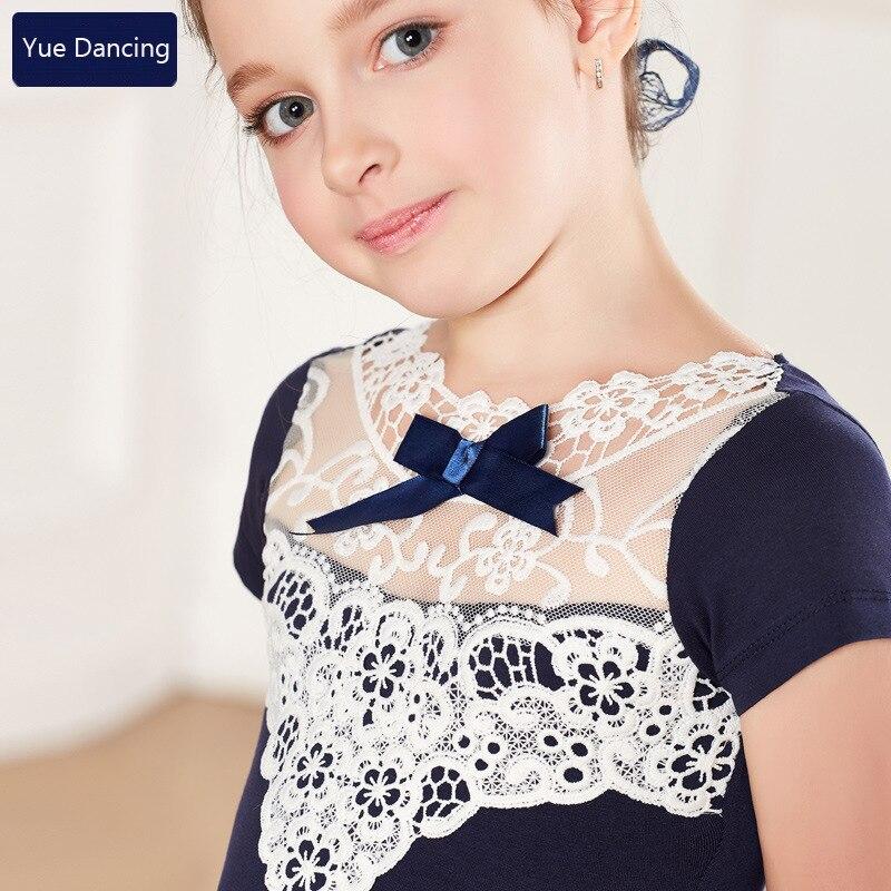 b857a514f Aliexpress.com   Buy 2 9Y Children Lace Ballet Clothes Pink Blue ...