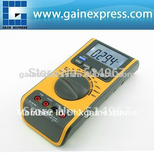 Portable 5in1 Digital Double Insulation Auto and Manual Ranges Multimeter Thermometer Lux Sound Meter 3999 counts  цены