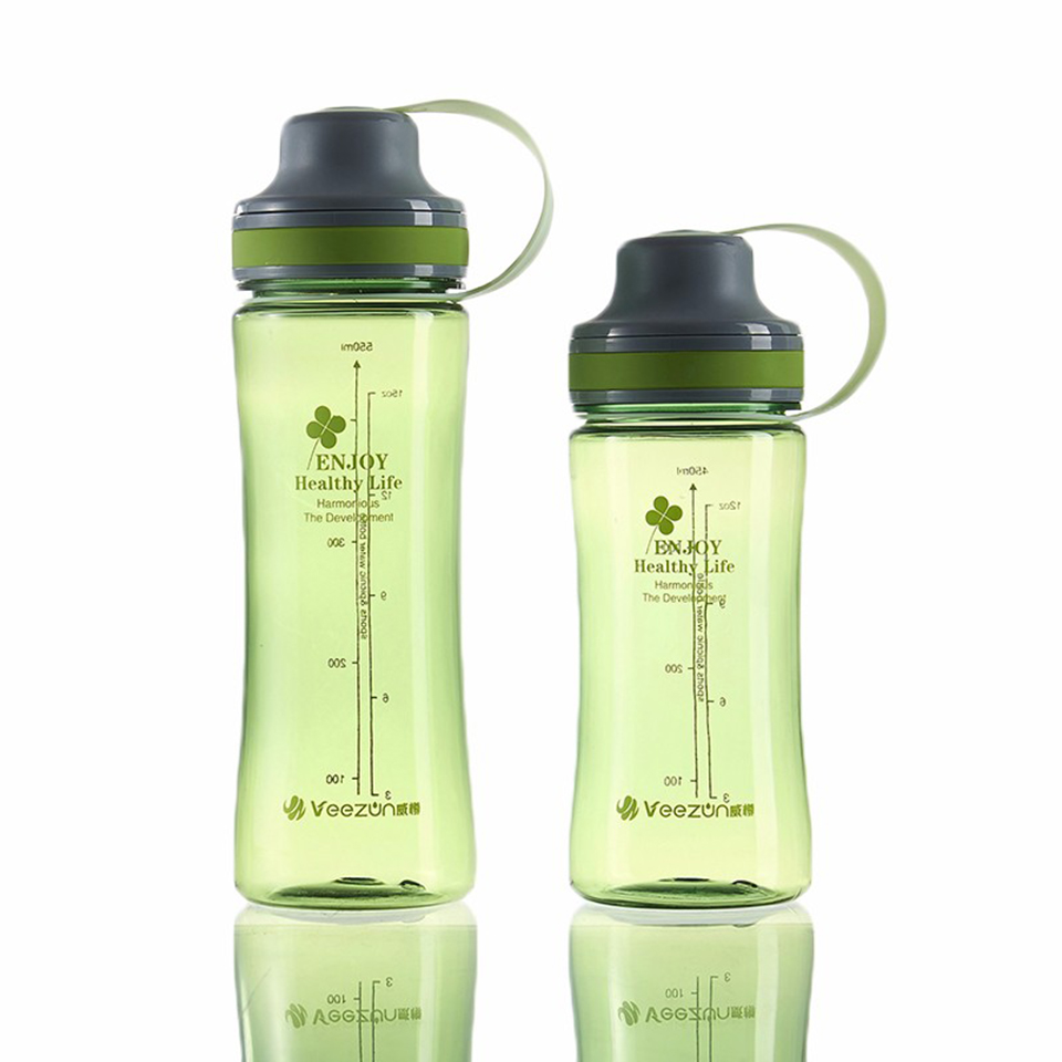 Transhome Sports Water Bottle 500ml 600ml Powder Shaker Plastic Portable Bottles For Cycling Outdoor Travel Space Bottle Bootle