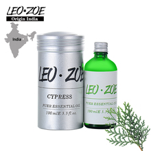 LEOZOE Cypress Essential Oil Certificate Of Origin India Aromatherapy High Quality Cypress Oil 100ML Massage Oil giant cypress 2014