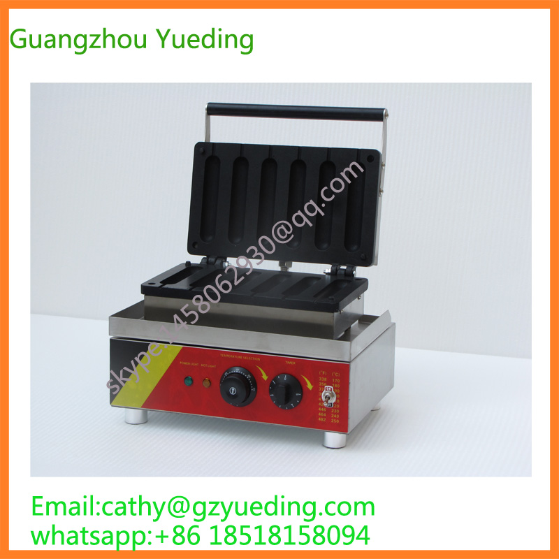 hot dog baker/hot dog waffle baking machine/snake food baking equipment hot