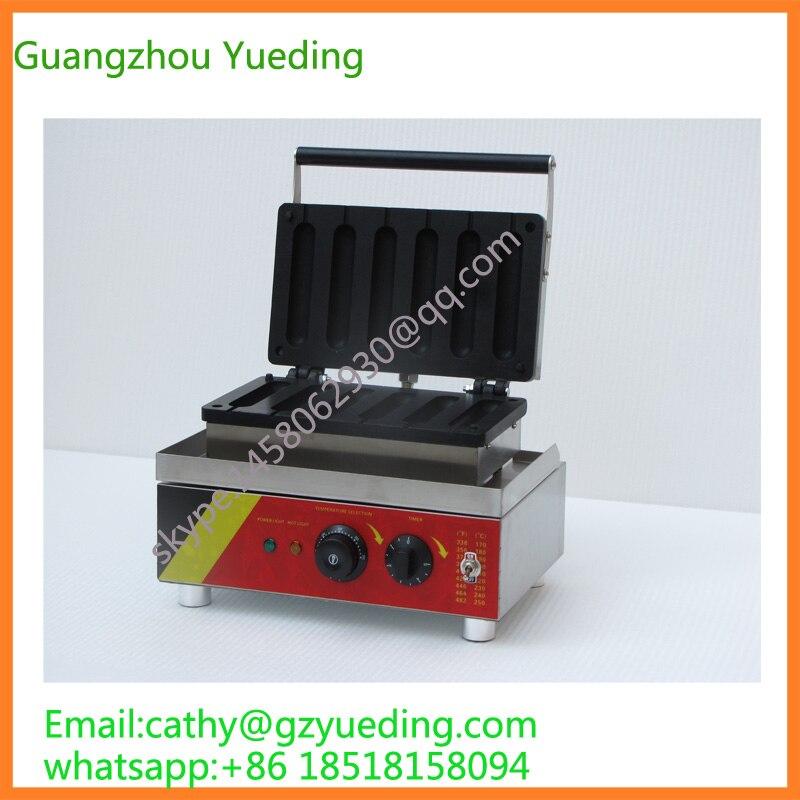 hot dog baker/hot dog waffle baking machine/snake food baking equipment hot dog cold dog