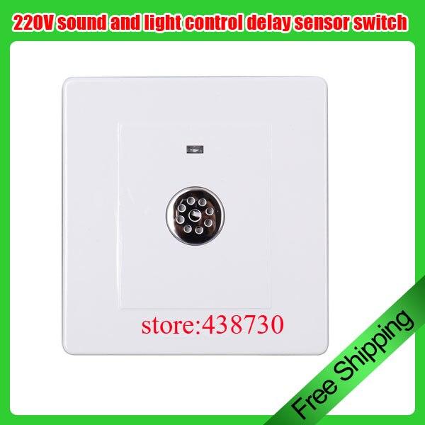 Sound And Light Control Delay Motion Sensor Switch For: 220V Intelligent Sound And Light Control Delay Sensor