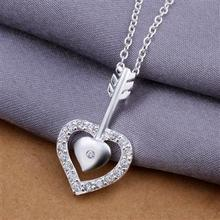 Retail & Wholesale Cheap Fashion Lady Heart Necklace Jewelry