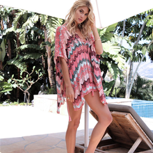 European and American New Knitted Hollow-out Beach Holiday Shirt Outer Sunscreen Women
