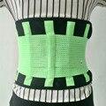 Nuevas Mujeres de la Llegada de Nuevo Cinturón de Dolor de Espalda Baja Verde Para Hombre de Color de La Espalda Para Hernia de Disco Lumbar