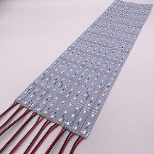 Image 3 - Necen 0.5M 10PCS 12V LED צמחים לגדול אור DC12V 5730 LED בר אור עבור אקווריום חממה צמח גדל 10 יח\חבילה