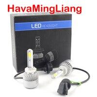 2Pcs Auto H4 LED H7 H11 H8 9006 HB4 H1 H3 HB3 S2 Car Headlight Bulbs