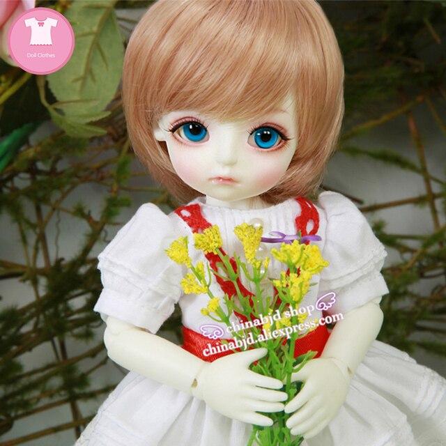 BJD SD בגדי בובת 1/6 נסיכת שמלת צעצוע עבור Linachouchou מלאכי מליסה YF6 182 בובת אבזרים
