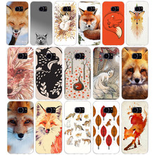 79G the fox is sleeping Case For Samsung Galaxy S7 Edge Case Soft TPU Silicone Cover for Galaxy S7 Edge Cover Coque(China)