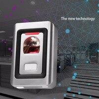 Metal Fingerprint Access Control System Thermal Sensors Remote Control Receiver Double LED Lights 1000 Fingerprint Capacity