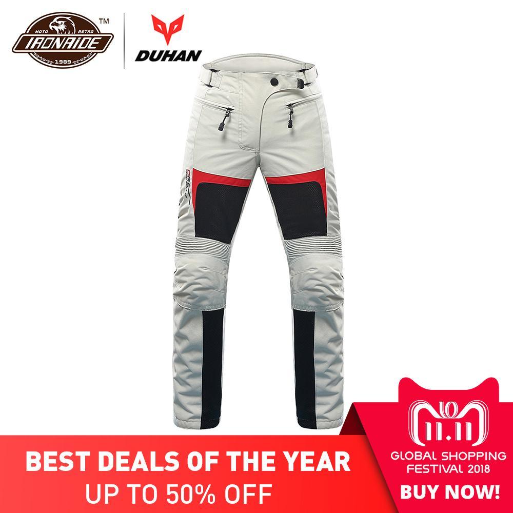 DUHAN Motorcycle Pants Women Motocross pants Breathable Moto Pants Pantalon Trousers Protective Gear Riding Motorbike Pants