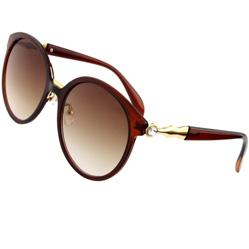 b09017bab إيثان الفاخرة النظارات الشمسية النساء عدسات مستديرة نظارات شمسية السيدات  أزياء العلامة التجارية مصمم نظارات عارضة القيادة UV400 الساخن بيع