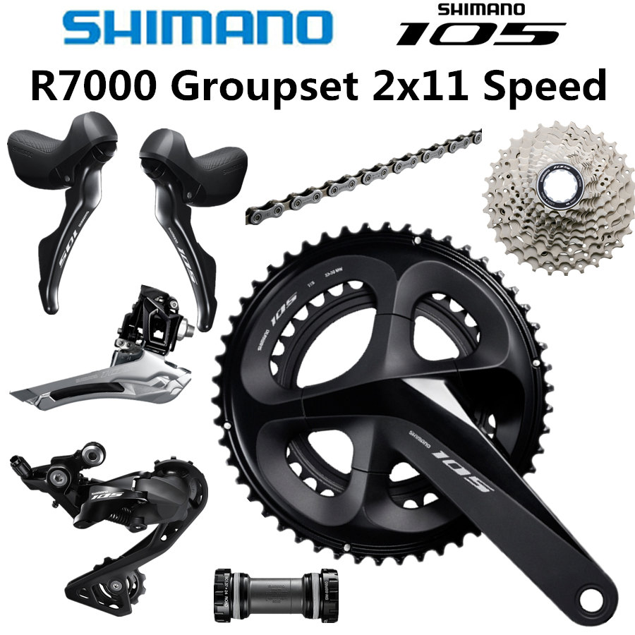 SHIMANO 5800 105 R7000 Groupset 105 5800 Derailleurs ROAD Bicycle 50 34 52 36 53 39T