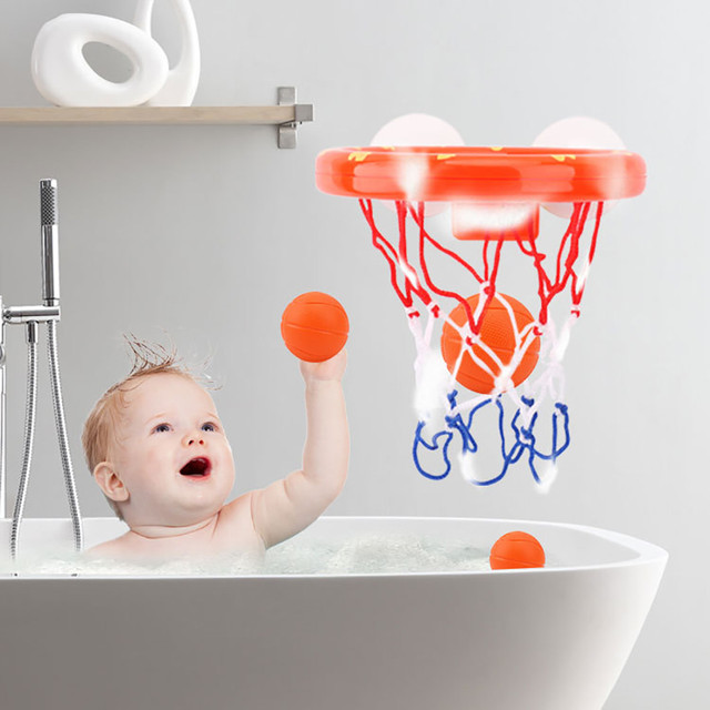 Us 6 51 Hinst 2019 Fun Basketball For Boys Girls Bathtub Shooting Game Can Play Gamel In The Bathroom Dec7 In Bath Toy From Toys Hobbies On