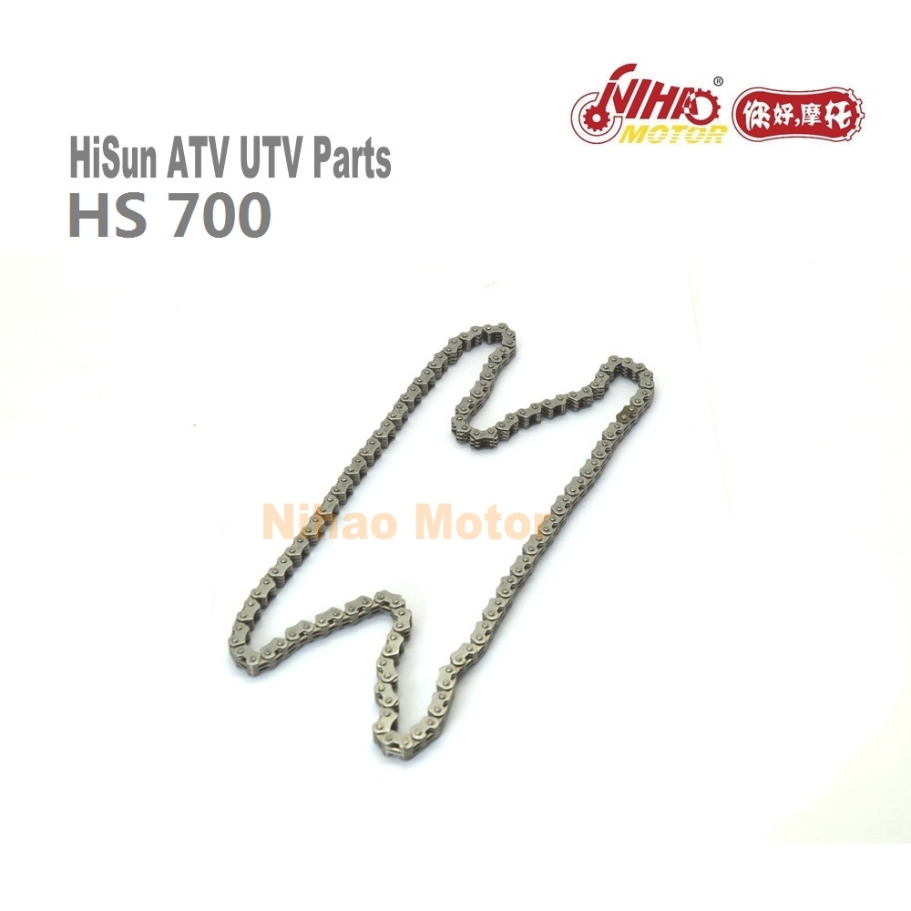 HS-18 HS700 Timing Chain 126 section <font><b>Hisun</b></font> Parts HS1102MU 700cc HS <font><b>700</b></font> FORGE SECTOR ATV <font><b>UTV</b></font> Quad Engine Spare For Coleman image