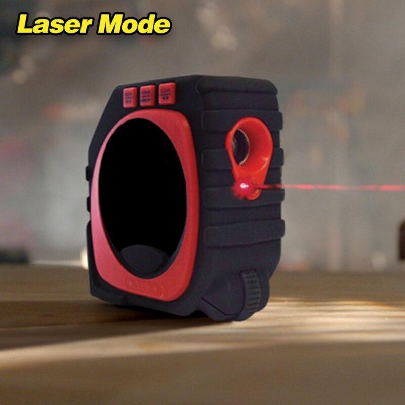 3 in 1 Laser Digital Tape Measure Tool Measuring Tape Measurement Roller Measure King new 3 in 1 digital tape measure string sonic roller mode laser tool