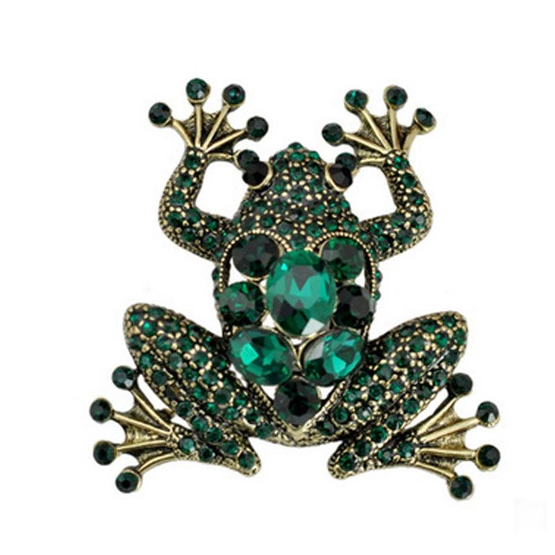 UALGL Fashion font b Jewelry b font font b Crystal b font Brooch Vintage Rhinestone Insect
