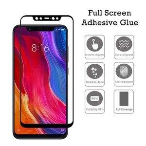 Image 2 - 2 Paquete de mi. Protector de pantalla de vidrio templado para Xiaomi mi 8 Lite mi 9 SE M9 de protección película de vidrio para Xiaomi mi A2 Lite A2