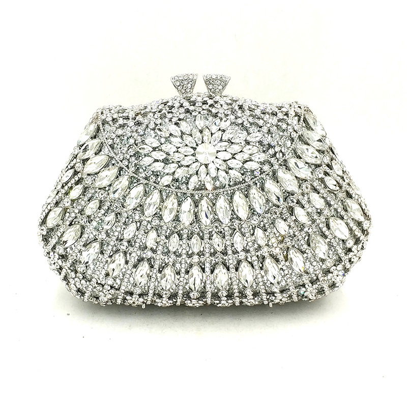 Luxury Ladies Bridal wedding party purses elegant purses women evening party small wallet diamonds crystal evening