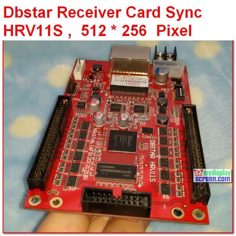 DBSTAR Receiver Card DBS-HRV11S,xmplayer,high refresh, high gray grade, sync receiver controller,