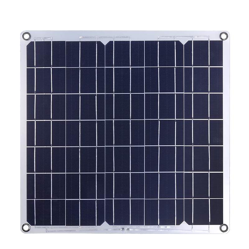 Image 5 - 50W Solar Panel Solar Cell Cell Module DC for Car Yacht Led Light RV 12V Battery Boat Outdoor Charger 39.5X39cm-in Solar Cells from Consumer Electronics