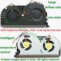 100% Тестирование Совершенно Новый Двойной Вентиляторы Вентилятор ПРОЦЕССОРА Для LENOVO Y50 Y50-70 Y50-70AS Y50-80 Ноутбук ремонт замена Вентилятор Охлаждения cooler