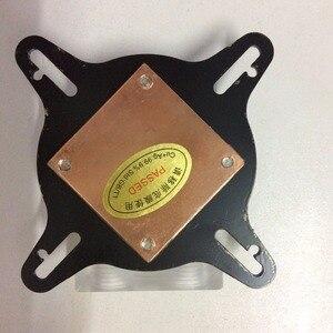 Image 5 - Новинка 100%, радиатор водяного охлаждения ЦП для компьютера intel и AMD со стандартным внешним креплением и винтами